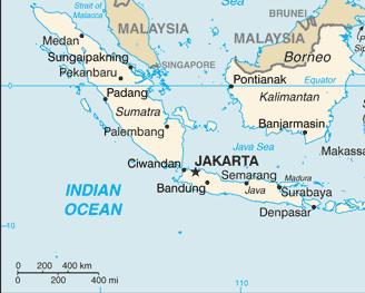 Indonesien, Austragungsort der Karate WM 2016